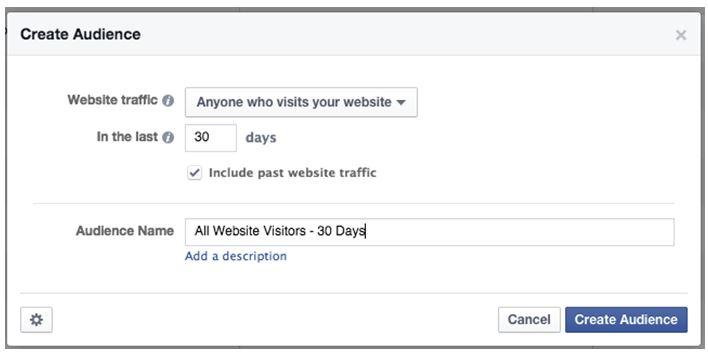 Facebook Re-marketing List