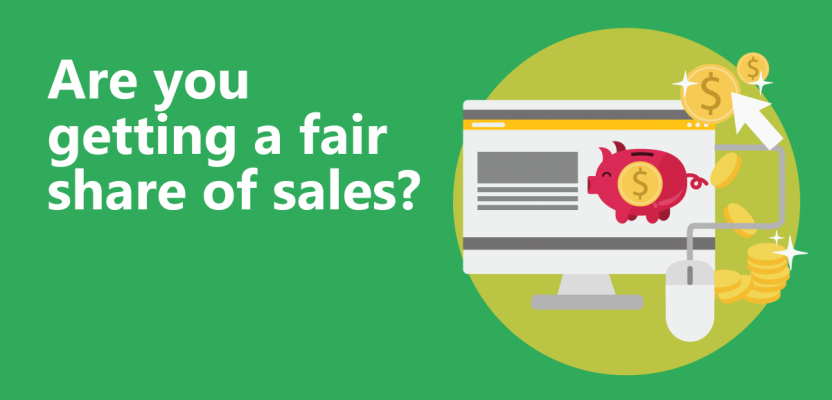 Are you getting your fair share of sales?