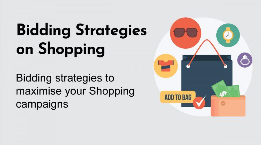 Bidding Strategies on Shopping