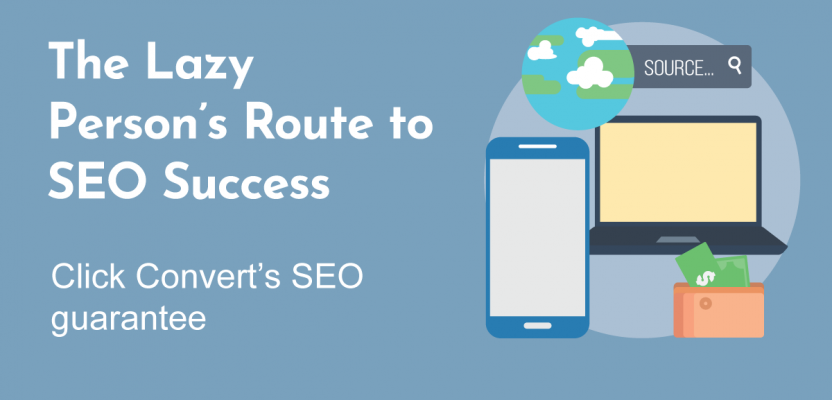 The Lazy Person's Route to SEO Success